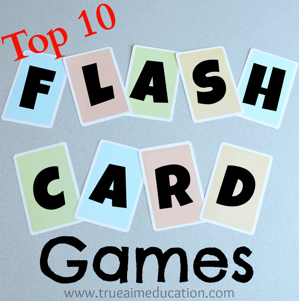 Top 10 Flash Card Games and DIY Flash Cards | True Aim