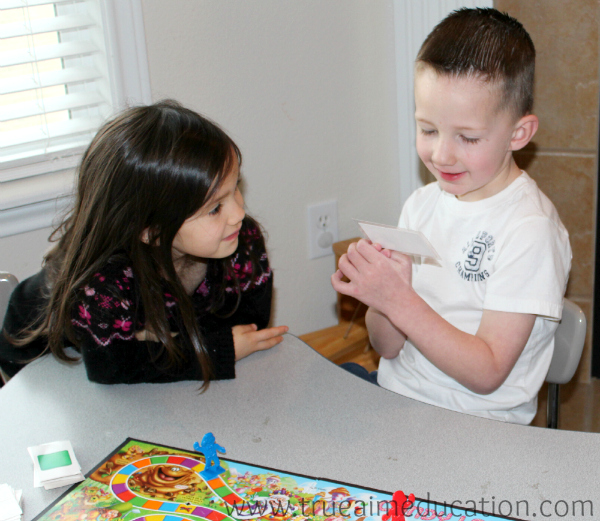 learning game reading flash card